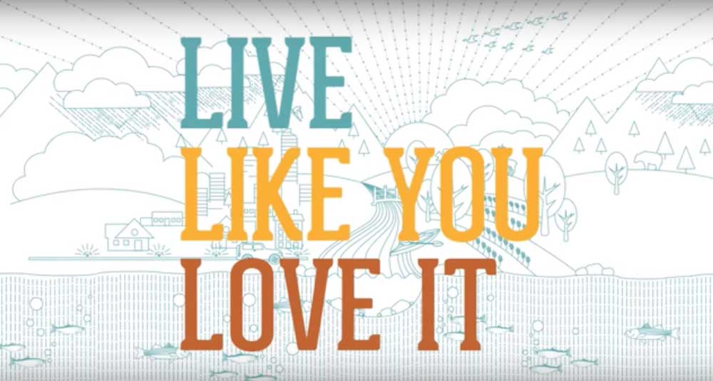 Live like you love it campaign screenshot